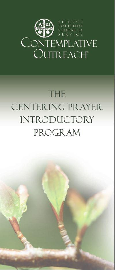 Centering Prayer Introductory Program brochure